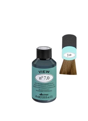 Davines Davines View Yarı Kalıcı Saç Boyası 7,0 Yogun Kumral 60 Ml Renksiz